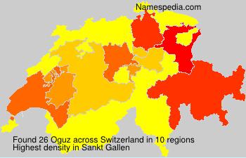 Surname Oguz in Switzerland