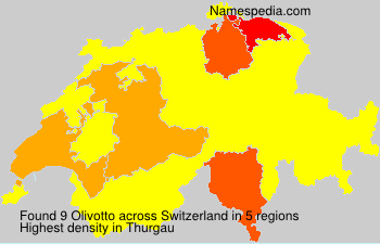 Surname Olivotto in Switzerland