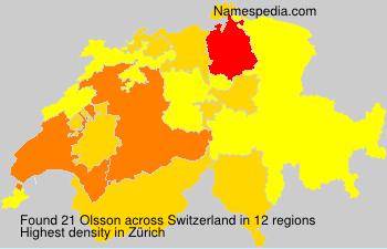 Olsson - Switzerland