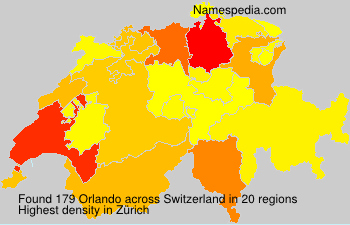 Surname Orlando in Switzerland