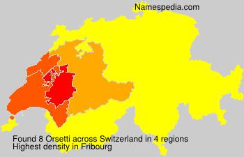 Orsetti - Switzerland