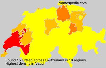 Familiennamen Ortlieb - Switzerland