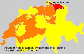Surname Palella in Switzerland