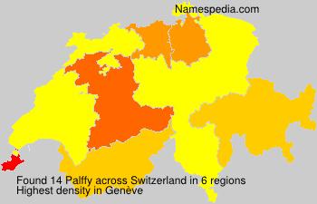 Familiennamen Palffy - Switzerland
