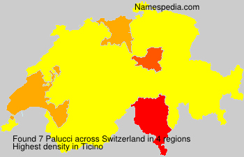 Surname Palucci in Switzerland