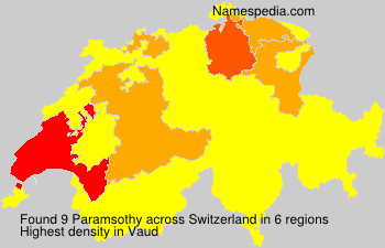 Surname Paramsothy in Switzerland
