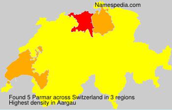 Familiennamen Parmar - Switzerland
