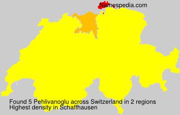 Familiennamen Pehlivanoglu - Switzerland