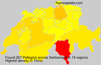 Surname Pellegrini in Switzerland