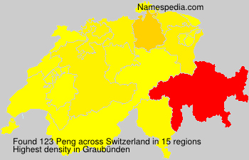 Surname Peng in Switzerland
