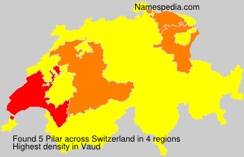 Surname Pilar in Switzerland