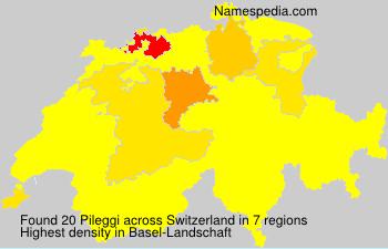 Surname Pileggi in Switzerland
