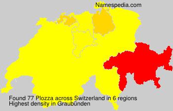 Familiennamen Plozza - Switzerland