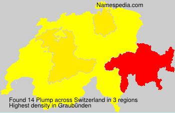 Familiennamen Plump - Switzerland