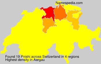 Familiennamen Pnishi - Switzerland