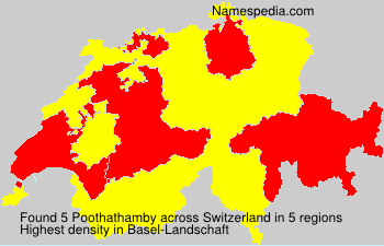Surname Poothathamby in Switzerland