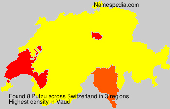 Surname Putzu in Switzerland