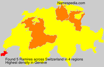 Surname Ramires in Switzerland