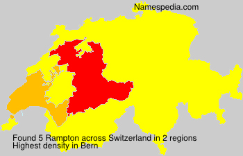 Familiennamen Rampton - Switzerland