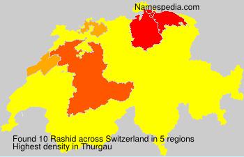 Familiennamen Rashid - Switzerland