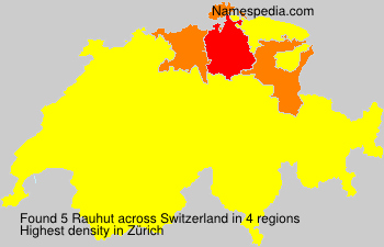 Surname Rauhut in Switzerland