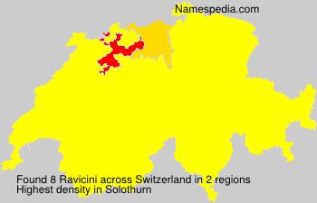 Familiennamen Ravicini - Switzerland
