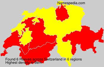 Familiennamen Reeves - Switzerland