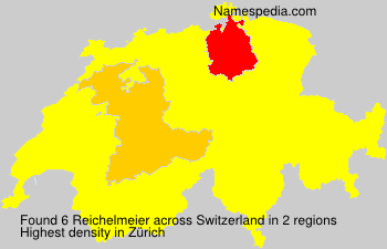 Surname Reichelmeier in Switzerland