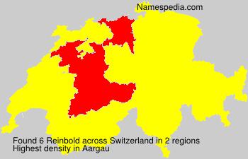 Familiennamen Reinbold - Switzerland