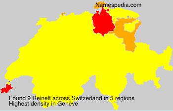 Surname Reinelt in Switzerland