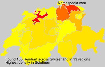 Familiennamen Reinhart - Switzerland