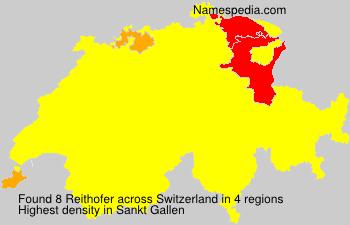 Surname Reithofer in Switzerland