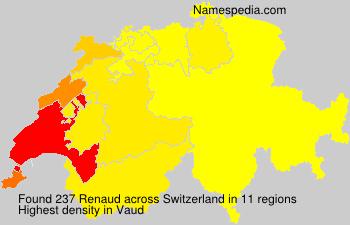 Familiennamen Renaud - Switzerland