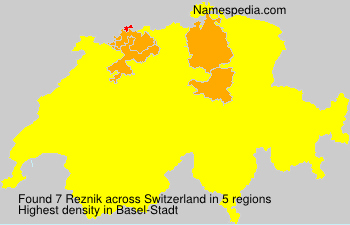 Familiennamen Reznik - Switzerland