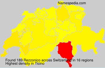 Familiennamen Rezzonico - Switzerland