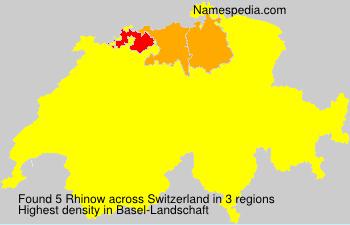 Rhinow - Switzerland
