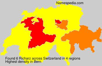 Familiennamen Richarz - Switzerland