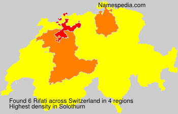 Surname Rifati in Switzerland