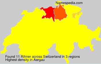 Familiennamen Rihner - Switzerland