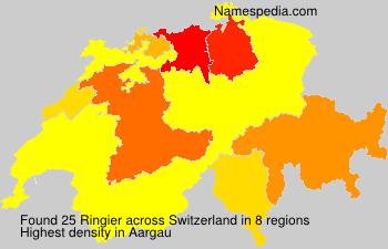 Surname Ringier in Switzerland