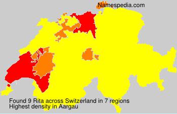 Surname Rita in Switzerland