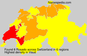 Surname Rosado in Switzerland