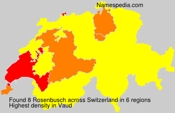 Surname Rosenbusch in Switzerland