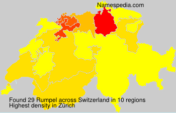 Surname Rumpel in Switzerland