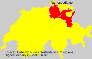 Sabathy - Switzerland
