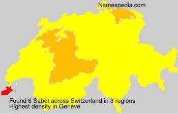 Sabet - Switzerland