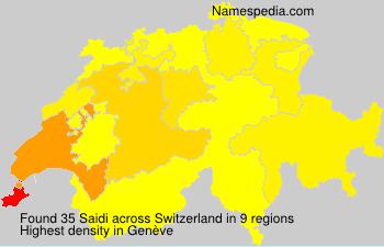 Saidi - Switzerland