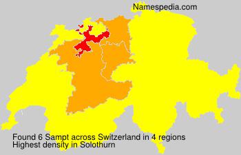 Familiennamen Sampt - Switzerland