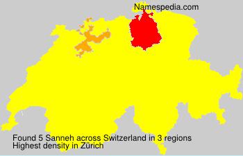Familiennamen Sanneh - Switzerland