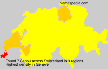 Familiennamen Sanou - Switzerland